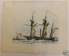 Marines bateaux boats 19ème siècle