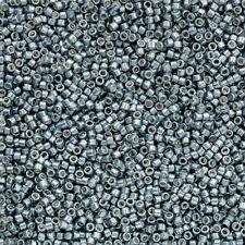 Toho Treasure Seed Beads 11 Galvanised Blue Slate 7.8g TT-01-565 (Q75/3)