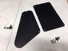 Charvel San Dimas Anodized Black Aluminum Tremolo Spring & Control Cover Plate
