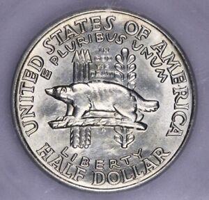 1936-P 1936 Wisconsin Commemorative Silver Half Dollar 50c ICG MS 63