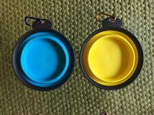 Silicone Pet Travel Bowl,Dog Cat Feeding Feeder Portable Foldable.Free Shipping