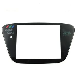 Replacement Glass Protective Screen Lens Self Stick For Sega Game Gear System