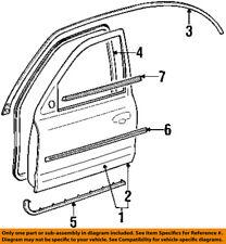 FORD OEM Front Door Window Sweep-Belt Molding Weatherstrip Left F7RZ5421453AA
