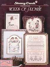 Words of Promise Cross Stitch Book - Stoney Creek Collection #101 - 1992