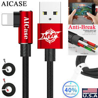 MVP ELBOW Lightning USB Charging Cable Charger for iPhone XS Max XR X 8 7 6 Plus
