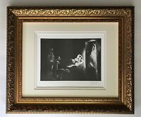 PABLO PICASSO ORIGINAL 1969 SIGNED SUPERB PRINT MATTED 11 X 14 + LIST $895