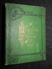 Parables from Nature by Mrs Alfred Gatty - 1871 - 5th Series, Children's Book