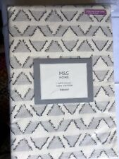 M&S, Duvet Set, Bedding, Bed set, Super King Size, 100% Cotton