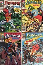 Set of 4: Deathlok Special # 1 - 2 - 3 - 4 Complete Marvel Comics 1991 Vf#