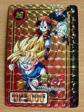 Carte Dragon Ball Z DBZ Carddass Hondan Part 27 #43 Prisme 1996 MADE IN JAPAN