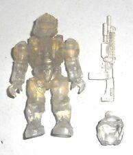 Halo Mega Bloks Figures ~ 2013 UNSC Spartan CQB (Active Camo) sac à dos & FUSIL
