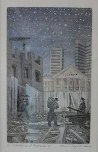 Anataloy Yakovlev, Alla Ozerovskaia Russian etching watercolor Kozma Prutkov