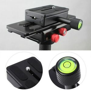 K80 Clamp Quick Release Sliding Plate Camera Mount Adapter With 1/4'' For Tripod