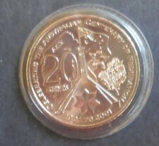 Australia 2001 Federation - ACT 20 Cent coin From RAM  set in Album UNC