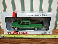 Green Chevrolet Silverado Pickup By DCP 1/50th Scale
