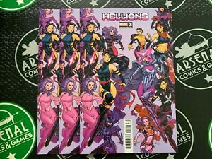 HELLIONS #13 2021 Uncanny X-Men Russell Dauterman Psylocke variant 3 copies!