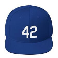 Jackie Robinson #42 Snapback Hat