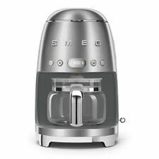 Smeg DCF02SSUS 50's Retro Style Aesthetic Drip Coffee Machine, Stainless Steel