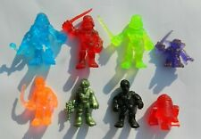 RARE LOT OF STAR WARS GALACTIC HEROES MEXICAN TRANSPARENT FIGURES PLASYKOOL
