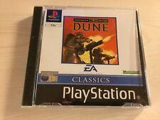 Dune Game PS1 Playstation 1 UK PAL