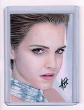2017 ACEO Sketch Card EMMA WATSON Actress / Model 1/1