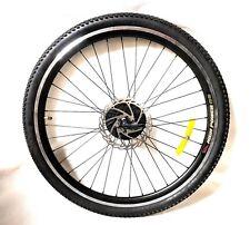 "26 "" Alloy Mountain Bike Rear Wheel  7 SPEED SHIMANO FREEWHEEL disc / rim, tyre"