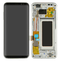 Replacement LCD Display Screen Digitizer Frame For Samsung Galaxy S8 G950 SILVER