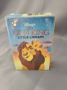 Disney's The Lion King Little Library Set of 4 Books Factory Sealed