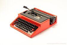 OLIVETTI DORA aka Lettera 31- red&black portable typewriter - rare typewriter
