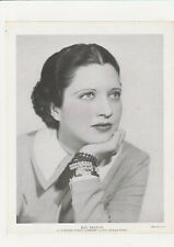"Kay Francis 1930's Vintage Publicity Shot ""I Found Stella Parrish"" 8x10"