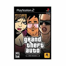 Grand Theft Auto The Trilogy Vice, San Andreas, Iii - PlayStation 2 New