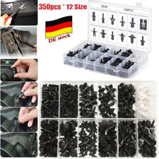 350pcs Voiture Rivet Clips Plastique garniture Agrafe Poussoir Rivets Push Pin