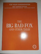the big bad fox and other tales fyc consideration