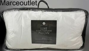 Hotel Collection Luxe Down Alternative KING Pillows Medium Support