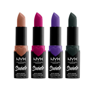 NYX SUEDE MATTE LIPSTICK . CHOOSE YOUR COLOR . NEW
