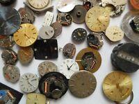 5.5 oz's Vintage Quartz Wrist Watch Dials Movements Altered Art Lot# G100