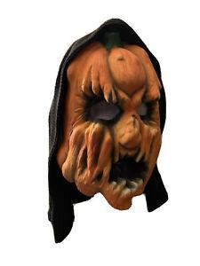 Vintage 1984 Don Post Studios 962 Rottkin Halloween Latex Mask With Hood
