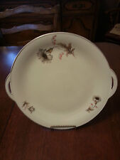 "VINTAGE BAVARIA CHINA TIRSCHENREUTH 100 GERMANY 10 1/2"" ROUND SERVING PLATTER"