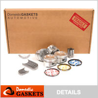 99-00 Mazda Protege 1.8L 16-Valve DOHC Full Gasket Pistons&Bearings&Rings Kit FP