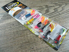 New listing 6 - Lindy Dancin' Crappie 1/16Oz Spin Jig Multi Color Bodies - Ice Fishing Jig