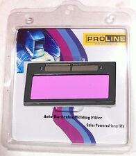 "3-11 new 4-1/4"" x 2"" solar Auto Darkening Welding Lens Filter Shade 3-11"