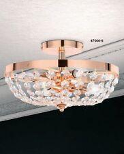 Plafonnier Dessin Classique Lampe de couloir Lampe à suspension en cristal 34008