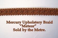 """Rame colorato Tappezzeria BRAID """"MERCURIO Meteor"""" 15mm Wide (venduti al metro)"""