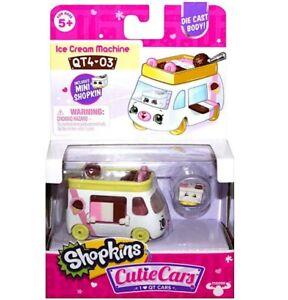 Shopkins Cutie Cars QT4-03 Ice Cream Machine Series 4 New
