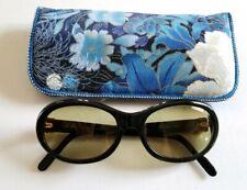 82c96c6df2f Vintage Cartier Paris Occiali Tentation Black Sunglasses Size 55-18-140  Jackie O