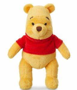 Disney Winnie the Pooh Mini Bean Bag Plush Soft Doll Toy 19cm H New Genuine