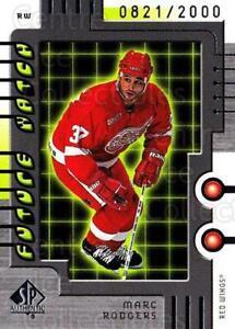 1999-00 SP Authentic #102 Marc Rodgers