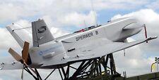 Sperwer B France Army SAGEM UAV Vehicle Wood Model Replica Small Free Shipping