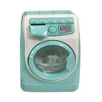 Mini Educational Simulation Washing Machine Toys Kids Play House Pretend ToyP6X1