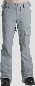 VOLCOM Women's PLATEAU Pants - Large - GRY - NWT